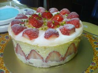 連休ケーキ